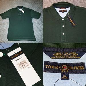 New Men's Tommy Hilfiger Polo Golf  Short sleeve
